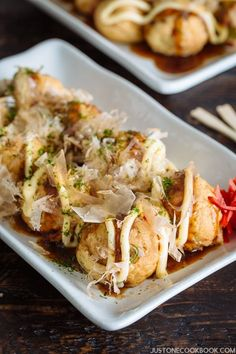 Takoyaki - Octopus Balls (たこ焼き)| Easy Japanese Recipes at JustOneCookbook.com