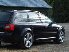 2002 Audi S6 Avant, Hartmann RS6 wheels