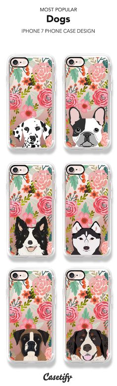 Most Popular Dogs iPhone 7 and iPhone 7 Plus case. Shop them all here >    https://www.casetify.com/artworks/DZxibvo20t