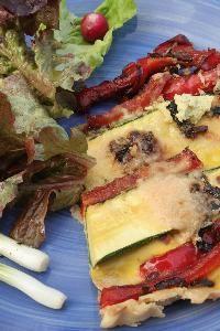 Low Fat veggie Quiche