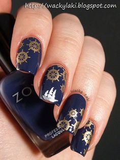 This is definitely something.... I love the elegant touch of these nail designs.