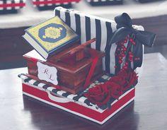 Wedding – Black & White Stripes & Red III - OLA LOLA
