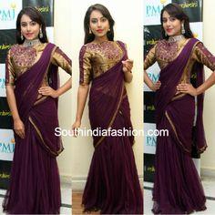 kenisha_saree_gown_corset_blouse