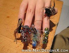 best halloween nail art - Nail Designs & Nail Art