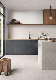 Minimal Kitchen Design, Minimalist Kitchen, Interior Design Kitchen, Modern Interior Design, Interior Design Inspiration, Kitchen Inspiration, Kitchen Designs, Interior Architecture, Diy Interior