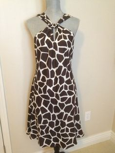 Banana Republic Brown silk dress
