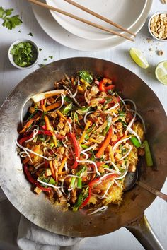 Spaghetti Squash Pad Thai // Natural Girl Modern World // Vegan & Gluten Free