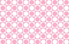 Pink and White Squares and Polka Dots