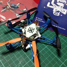 Completed#flexbot #hexacopter #fpv by spydamonkee
