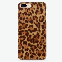 Brown Leopard iPhone 8 Plus Case