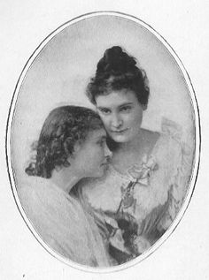 Helen Keller and Miss Sullivan