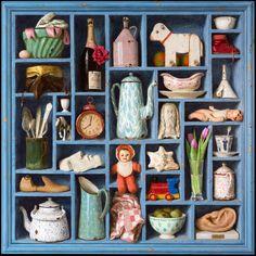 Kenne Gregoire родился 1951, голландский плодовитый художник, скульптор и живописец. http://www.kennegregoire.com/ http://tanjand.livejournal.com/1272242.html