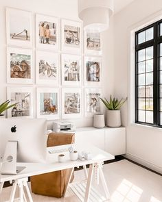 Guest Bedroom Home Office, Home Office Space, Home Office Design, Home Office Decor, House Design, Home Id, Rooms Home Decor, Home Studio, Decoration