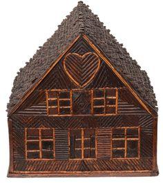 tramp art love shack