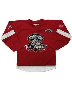 TESTAMENT 'BROTHERHOOD OF THE SNAKE - DETROIT' HOCKEY JERSEY