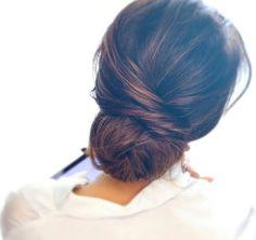 #hair #updo