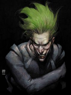 The Joker by Jeremy Colwell *