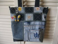 Denim bag (picture only)