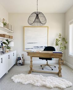 27 Awesome Ideas for Your Home Office Home Office Colors, Home Office Space, Home Office Desks, Home Office Storage, Home Organization, Organizing, Office Wall Decor, Office Signs, Home Theater Rooms
