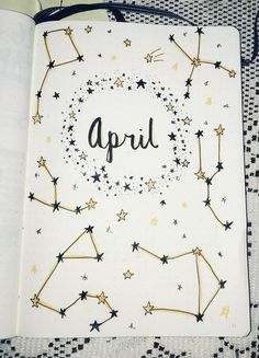 Bullet Journal Ideas (Unique and Simple) - Going To Tehran Bullet Journal School, Bullet Journal Inspo, Bullet Journal Tumblr, April Bullet Journal, Bullet Journal Writing, Bullet Journal Banner, Bullet Journal Cover Page, Bullet Journal Tracker, Bullet Journal Aesthetic
