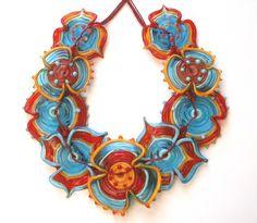 Latino queen glass-art-beads
