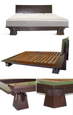 JAPANESE STYLE PLATFORM BEDS