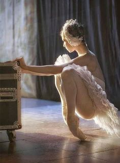 I've never lost the passion to dance.. just the time. Ballet will always hold a special place in my heart.
