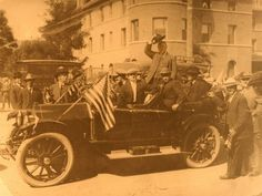 President Roosevelt was the first president to visit the University of Nevada in Reno in 1903. In 1982, President Reagan became the second.  Provided by Nevada Historical Society