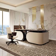 Luxury Office Desks - Home Office Furniture Set Check more at https://www.anvilthemovie.com/small-law-office-interior-design/
