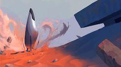 Hyperion - Consuls' Starship on Behance