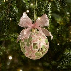 I just ordered this Poinsettia Kissing Ball Ornament by Lenox! I have been collecting Lenox ornaments since Adam and I had our 1st Christmas together. <3 them!