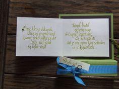 verpakking voor centje als geboortecadeau