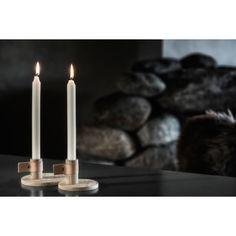 Bright Light candle holder, nature – by Wirth #interior #design #scandinavian