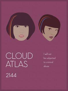 Cloud Atlas 2144. Sonmi-451 (Doona Bae) and Yoona-939 (Xun Zhou).