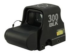EOTech XPS2-300 AAC Blackout/Whisper Holographic Weapon Sight 65 MOA Circle with (2) 1 MOA Dots Matte CR123 Battery
