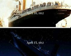 103 years ago since the Titanic sank Titanic Movie Facts, Titanic Quotes, Real Titanic, Titanic History, Titanic Boat, Titanic Wreck, Titanic Ship, Leo And Kate, Harry Potter Puns