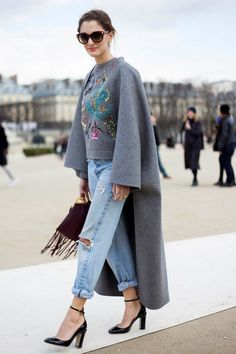 Not sure if coat or amazing jumper...