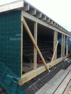 loft conversion flat roof dormer in build #6