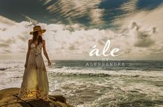 Alessandra Ambrosio with bohemian inspired looks featuring maxi dressesin for ALE summer 2015 Photoshoot