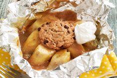 Grilled Banana Mini-Pies recipe