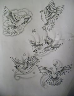 Dove Wrist Tattoos | dove tattoo design by tattoosuzette designs interfaces tattoo design ...