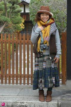 Hyakki Yako - La mode Mori Girl