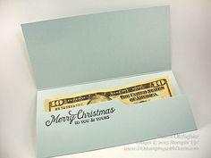 Money Holder card shared by Dawn Olchefske for DOstamperSTARS Thursday Challenge DSC#159 #dostamping #stampinup