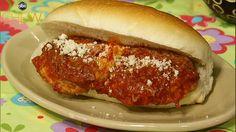 Nonna Ninetta's Ricotta Ball Hero recipe. #thechew