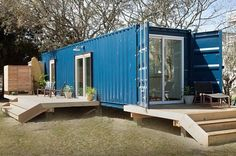 Modern Container Beach House| 17 Cool Container Homes To Inspire Your Own | Homesteading Ideas