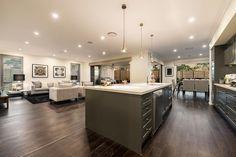 Tallavera - Two Storey Executive Style Home | McDonald Jones Homes #livingroom #familyroom #displayhome #newhome #homedesign #mcdonaldjoneshomes