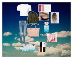 """""""Casual Outfit"""" by g-19woodhall ❤ liked on Polyvore featuring Rosetta Getty, Jack Wills, WithChic, H&M and Smashbox"""