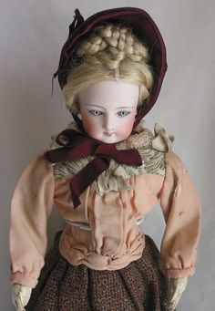 Antique French Fashion Doll from ruth-falkinburgs-dolls-toys on Ruby Lane