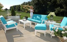 Banff Recycled Polymer Outdoor Sofa Collection