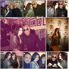 Bassam, Roberto Cavalli , Nancy Ajram and Haifa